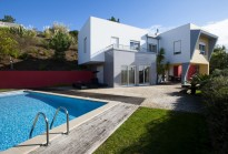 Contemporary 3 bedroom villa with swimming pool - views to the sea and Lagoon, Foz do Arelho